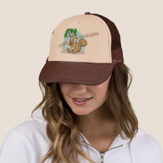 Tree, Hugger! Squirrel Trucker Hat