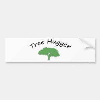 Tree Hugger Unique design! Bumper Stickers