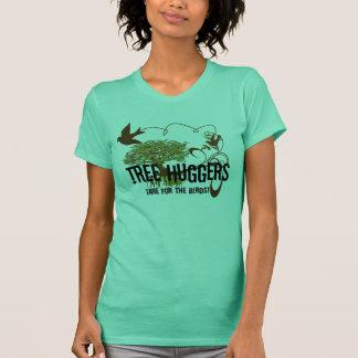 Tree Huggers 4 the Birds Change colors T-Shirt