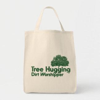 Tree Hugging Dirt Worshipper Tote Bag
