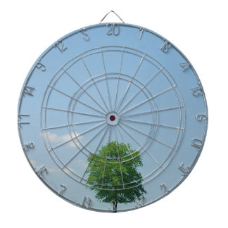 Tree in  a field 2 dartboard
