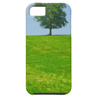 Tree in  a field case for the iPhone 5