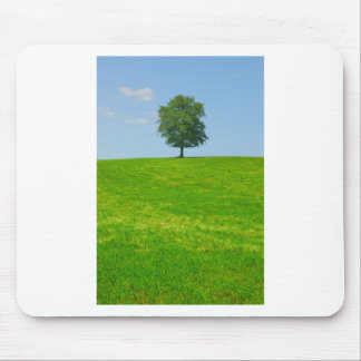 Tree in  a field mouse pad