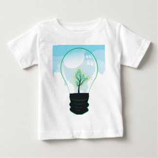 Tree in a Lightbulb 2 Baby T-Shirt