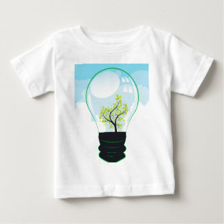 Tree in a Lightbulb Baby T-Shirt