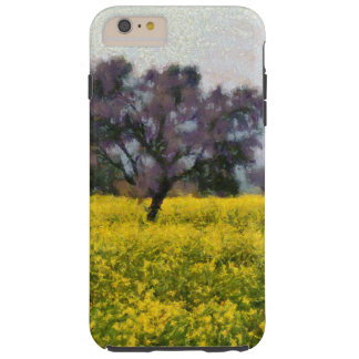 Tree in a yellow vision tough iPhone 6 plus case