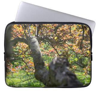 Tree in Autumn Photography Laptop Sleeve