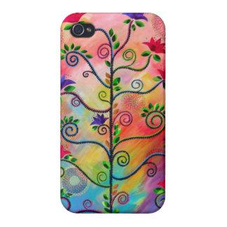"""Tree in Bloom Two"" iphone4 case CatherineHayesArt"
