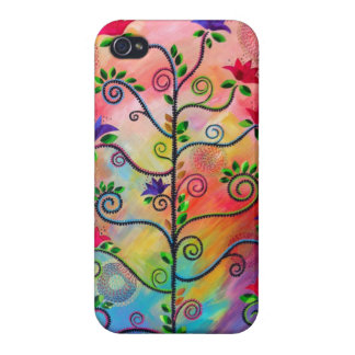 """Tree in Bloom Two"" iphone4 case CatherineHayesArt iPhone 4 Covers"