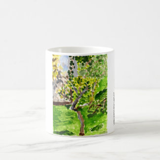 Tree in springtime mug
