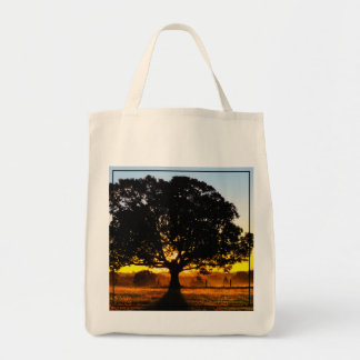 Tree in the Morning Tote Bag