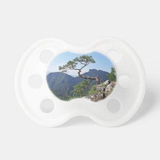 Tree in the mountain peak pacifier