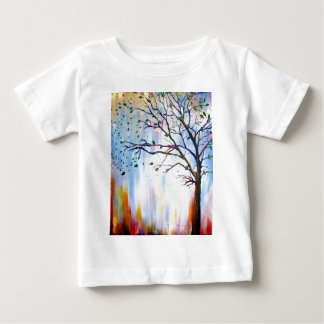 Tree in Wind Baby T-Shirt