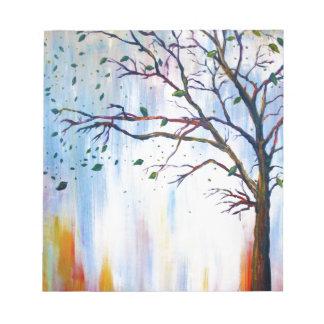 Tree in Wind Notepad