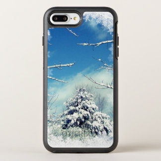 Tree in Winter Snow OtterBox Symmetry iPhone 7 Plus Case
