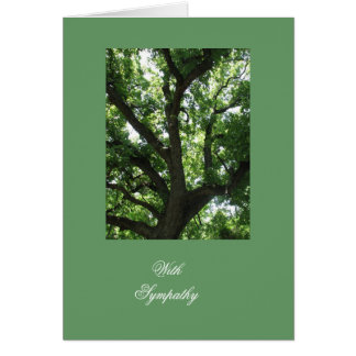 Tree Inspirational Sympathy Card