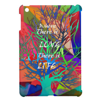 Tree is a rainbow of Love Cover For The iPad Mini