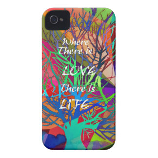 Tree is a rainbow of Love iPhone 4 Case-Mate Case