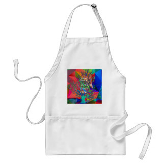 Tree is a rainbow of Love Standard Apron