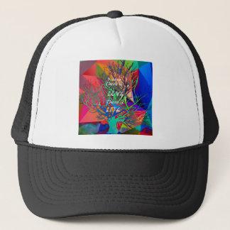 Tree is a rainbow of Love Trucker Hat