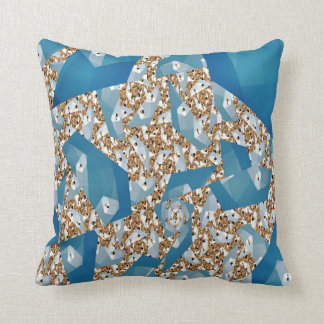 TREE LEAVES AND SKY THROW PILLOW