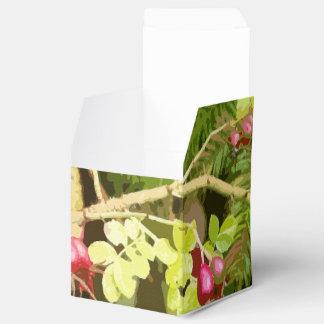Tree Leaves Leaf Design Woods Forest Wedding Favor Box
