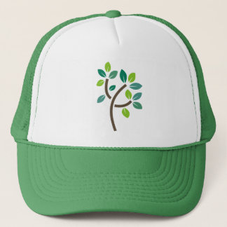 Tree Leaves Trucker Hat