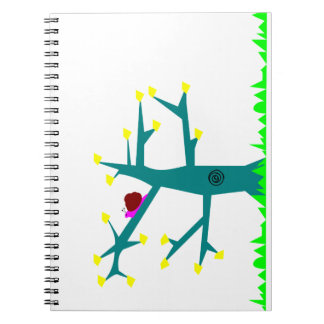 Tree-life Snail Spiral Notebook