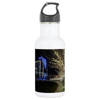 Tree Lights At Klyde Warren Park 532 Ml Water Bottle
