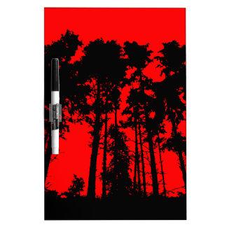 Tree Line Dry Erase Whiteboards