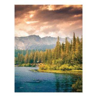 tree line in the wilderness letterhead
