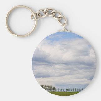 Tree Line Keychain
