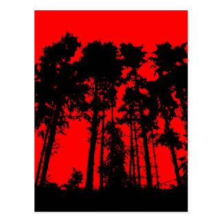 Tree Line Postcard