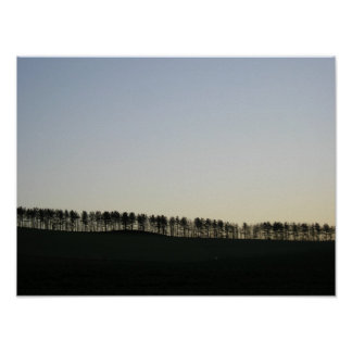 Tree Line Poster