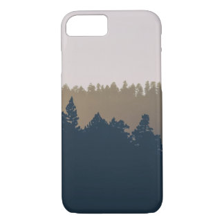 Tree line silhouette iPhone 7 case