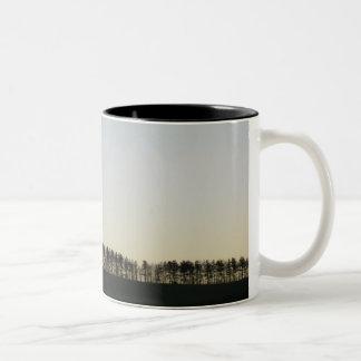 Tree Line Two-Tone Mug