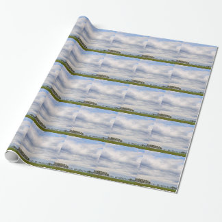 Tree Line Wrapping Paper