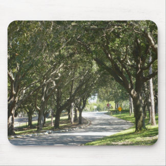 Tree Lined Mouse Pad