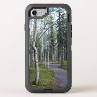 Tree Lined Nature Trail Alaska OtterBox Defender iPhone 8/7 Case