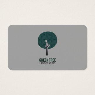 Tree Logo (gray) Business Card