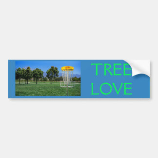 TREE LOVE bumper sticker