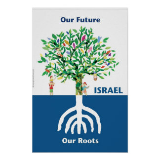 Tree Menorah Poster