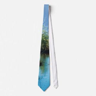 Tree - mirror - tie