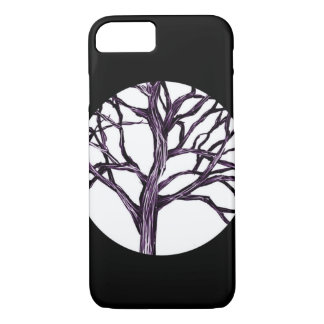 Tree Nature Gothic Goth Spooky Nature Witch Moon Case-Mate iPhone Case