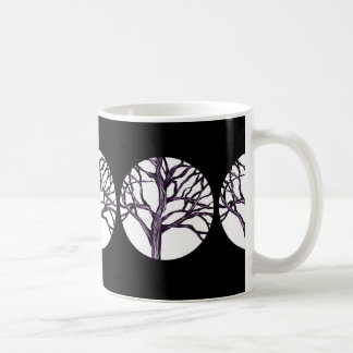 Tree Nature Gothic Goth Spooky Nature Witch Moon Coffee Mug