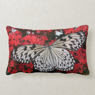 Tree Nymph Butterfly Entomology Lumbar Pillow