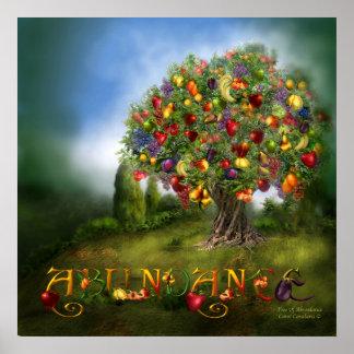 Tree Of Abundance Art Poster/Print Poster