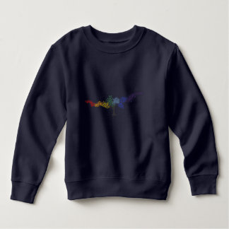 Tree of colorful butterflies sweatshirt