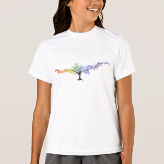 Tree of colorful butterflies T-Shirt