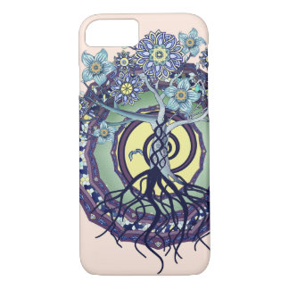Tree of Enlightenment Abstract Phone Case